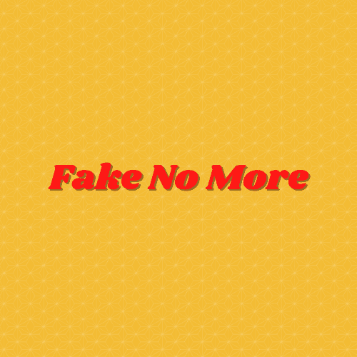 Fake No More image