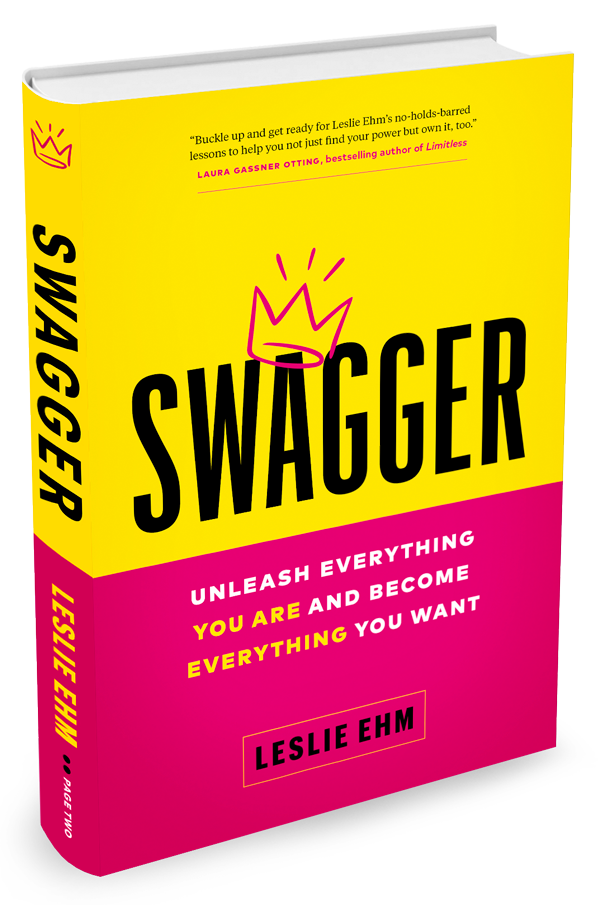 Book cover of Swagger: Unleash Everything You Are and Become Everything You Want